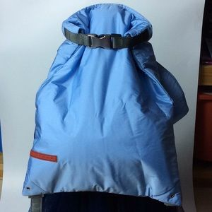 Preowned Prada Nylon Backpack in Baby Blue